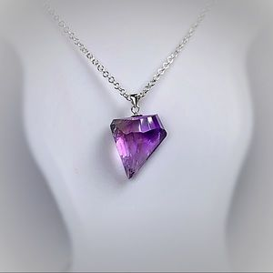 Genuine Natural Ametrine Necklace!